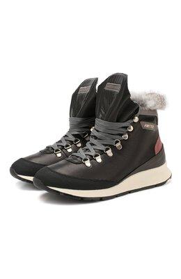 Комбинированные ботинки Philippe Model KKHD V010