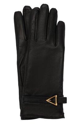Кожаные перчатки Bottega Veneta 609754/3V542