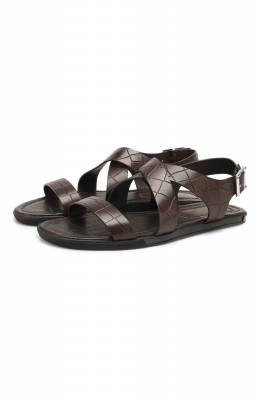 Кожаные сандалии Doucal's DU2418MALIUF073NM00