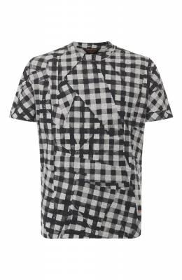 Хлопковая футболка Zegna Couture CUCJ11/7UJ03