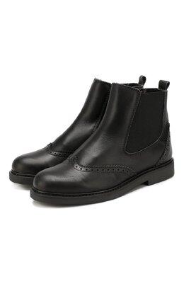 Кожаные ботинки с брогированием Beberlis 21088-A/31-34