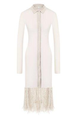 Платье из смеси шерсти и кашемира Bottega Veneta 565150/VA740