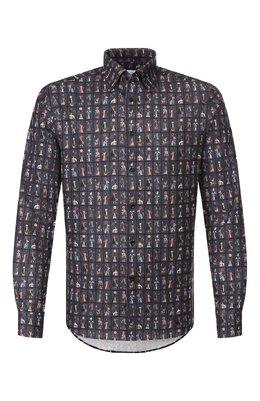 Хлопковая рубашка Eton 1000 00049