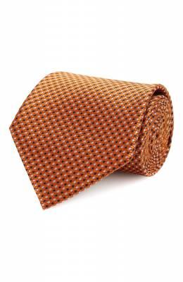 Шелковый галстук Brioni 062H00/P9488