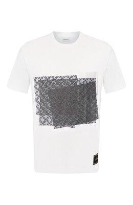 Хлопковая футболка Brioni UJDK0L/P9605