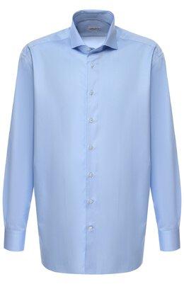 Хлопковая сорочка с воротником акула Zilli MFQ-MERCU-10715/RZ02
