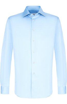 Хлопковая сорочка с воротником кент Brioni RCL07B/PZ042