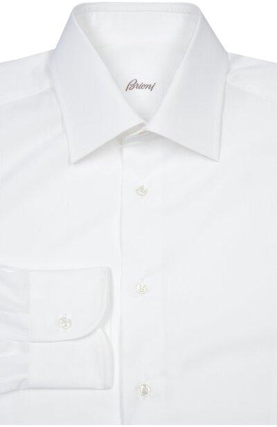 Хлопковая сорочка Brioni RCL9/PZ022 - 1