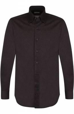 Хлопковая сорочка с принтом Zilli 6010109001