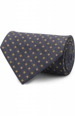 Шелковый галстук Brioni 063H00/P7489