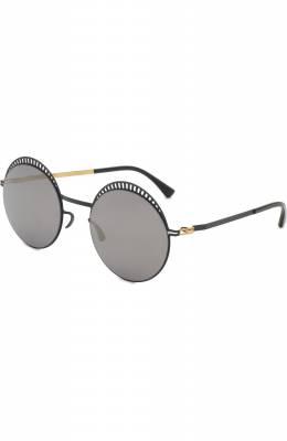 Солнцезащитные очки Mykita STUDI0 1.4/INDIG0/G0LD/BRILLIANTBLUE
