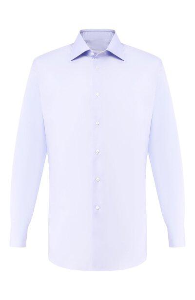 Хлопковая сорочка Brioni RCLU2U/PZ033 - 1