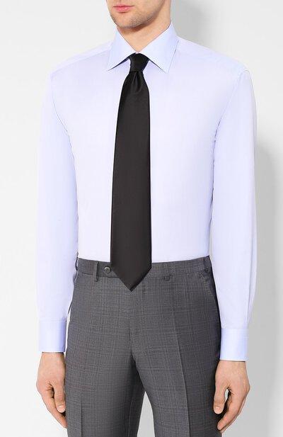 Хлопковая сорочка Brioni RCLU2U/PZ033 - 4