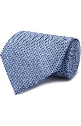 Шелковый галстук с узором Brioni 063I00/P7438