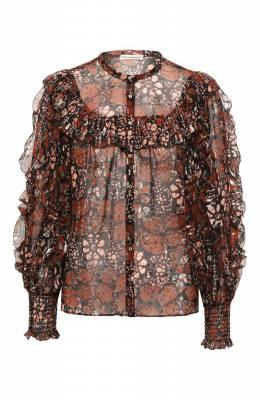 Шелковая блузка Ulla Johnson PS200222