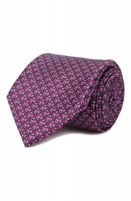 Шелковый галстук Zilli 50289/TIES