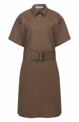 Хлопковое платье Bottega Veneta 563045/VF1Y0