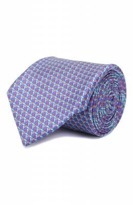 Шелковый галстук Zilli 50221/TIES