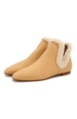 Замшевые ботинки Eros The Row F1053-SH01