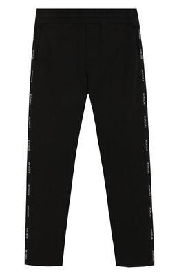 Хлопковые брюки Moncler Enfant E1-954-87070-05-809AG/4-6A