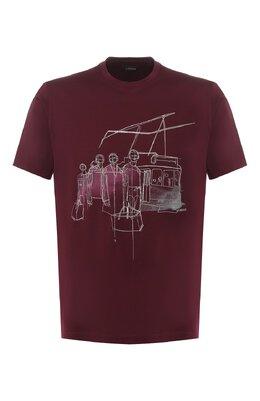 Хлопковая футболка Z Zegna VS372/ZZ630E