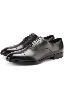 Классические кожаные оксфорды Giorgio Armani X2C535/XAT29