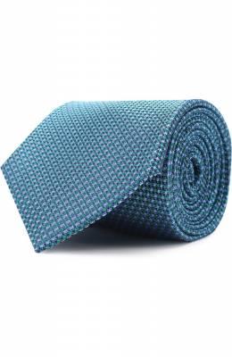 Шелковый галстук с узором Brioni 062I/06486