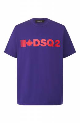 Хлопковая футболка Dsquared2 S74GD0568/S22427