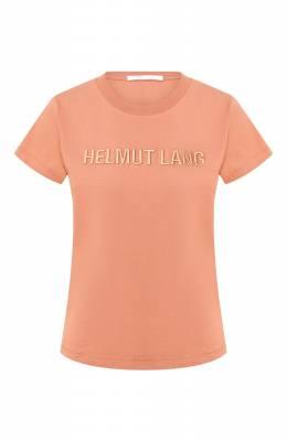 Хлопковая футболка Helmut Lang J06DW502