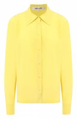 Шелковая рубашка Diane Von Furstenberg 13897DVF