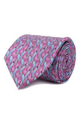 Шелковый галстук Zilli 50209/TIES