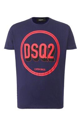 Хлопковая футболка Dsquared2 S74GD0659/S22427