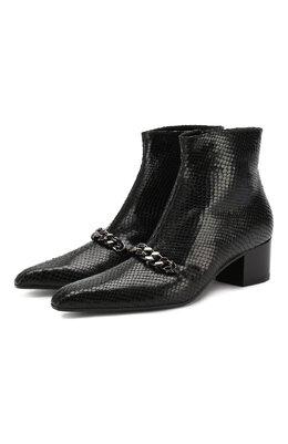 Кожаные ботинки Tom Ford W2453R-LG0001