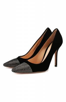 Текстильные туфли Gianvito Rossi G21849.15RIC.VELNER0