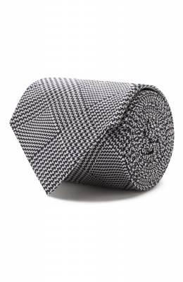 Шелковый галстук Luigi Borrelli LC80-B/TT8589