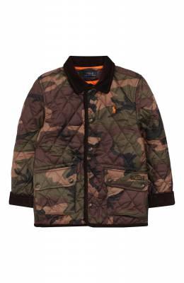 Стеганая куртка Polo Ralph Lauren 322749072