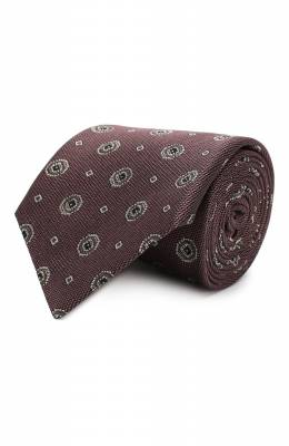 Шелковый галстук Brioni 062H00/0840D