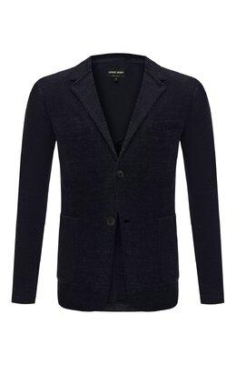 Хлопковый пиджак Giorgio Armani 3GSG55/SJFQZ
