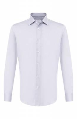 Хлопковая сорочка с воротником кент Brioni RCL01D/P806G