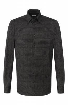 Хлопковая рубашка Zilli MFS-MERCU-56051/RJ01