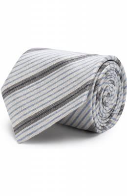 Шелковый галстук в полоску Brioni 063I00/P7472
