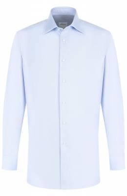 Хлопковая сорочка с воротником кент Brioni RCLU1Z/PZ062