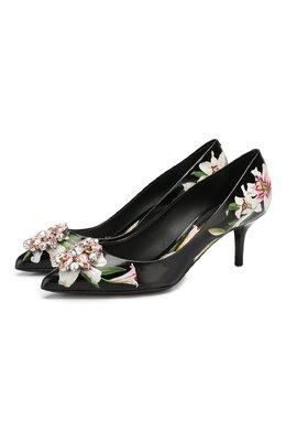 Кожаные туфли Bellucci Dolce&Gabbana CD0066/AA156