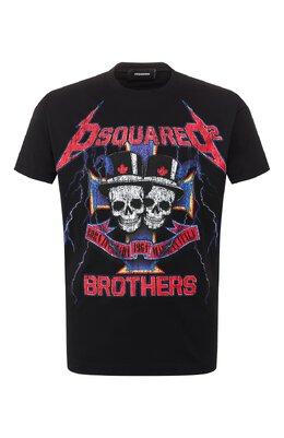 Хлопковая футболка Dsquared2 S71GD0802/S22844