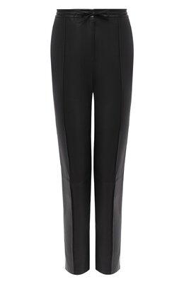 Кожаные брюки Yves Salomon 9EYP267XXAPBI