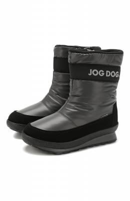 Текстильные сапоги Jog Dog 1223R/TU0N0 BALTIC0/29-35
