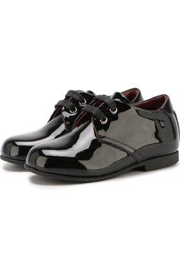 Лаковые туфли на шнуровке Dolce&Gabbana 0132/DL0029/A1328/19-28