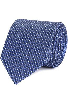 Шелковый галстук с узором Ermenegildo Zegna Z9A151L7