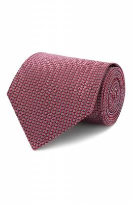Шелковый галстук Brioni 062H00/P9459