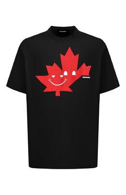 Хлопковая футболка Dsquared2 S74GD0571/S21600